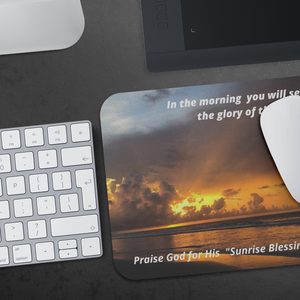 Mousepad God's Sunrise Glory