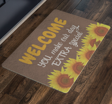 Load image into Gallery viewer, Doormat Sunflowers
