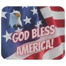 Load image into Gallery viewer, Mousepad God Bless America