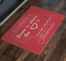 Load image into Gallery viewer, Nebraska Fan's Doormat