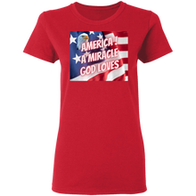 Load image into Gallery viewer, God Loves America  T-Shirt