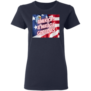 God Loves America  T-Shirt
