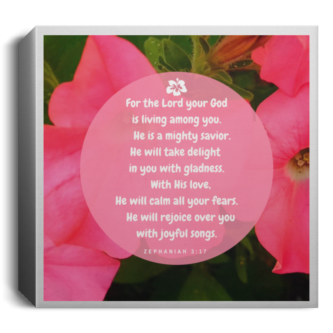 Wall Art Mini Square Canvas God's Delight