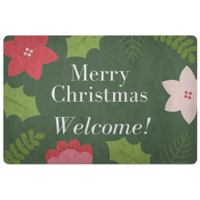 Load image into Gallery viewer, Doormat Merry Christmas Welcome