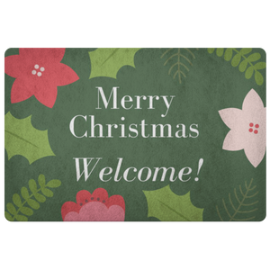 Doormat Merry Christmas Welcome
