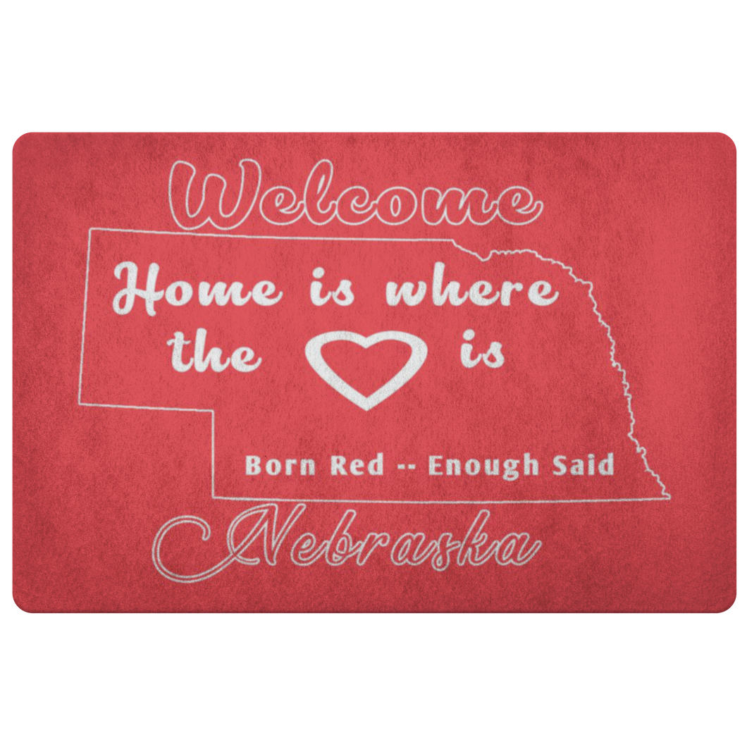 Nebraska Fan's Doormat