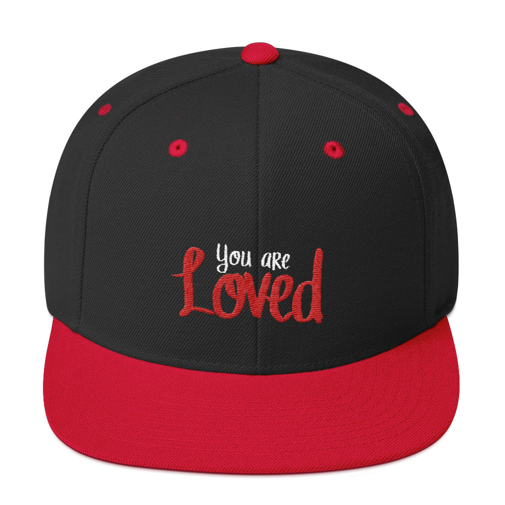 You Are Loved Snapback Hat