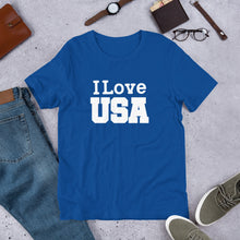 Load image into Gallery viewer, I LOVE USA Unisex