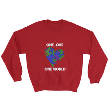Load image into Gallery viewer, One Love One World Unisex Sweatshirt