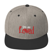 Load image into Gallery viewer, You Are Loved Snapback Hat