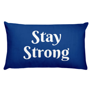 Stay Strong Basic Pillow
