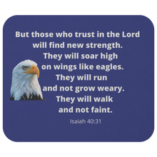 Load image into Gallery viewer, Mousepad Soar Like Eagles Isaiah 40:31