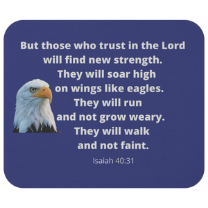 Mousepad Soar Like Eagles Isaiah 40:31