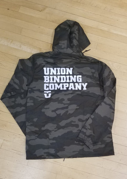 Union binding company Team Coaches Jacket Camo