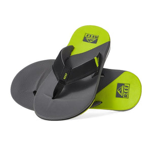 Reef Fanning Low Sandal (Grey/Lime)