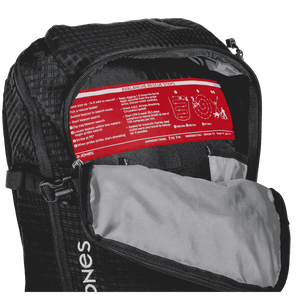 Jones Decent 25L Back Pack inside detail