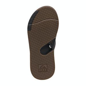 Reef Fanning Low Sandal (Black)