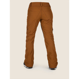 Volcom Womens Aston Gore Tex Snow Pants Copper