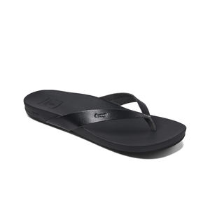 Reef Cushion Court Sandal (Black)