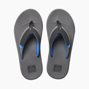 Reef Fanning Low Sandal (Grey/Blue)