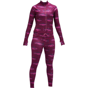 Airblaster Hoodless Ninja Suit Berry Fish Womens