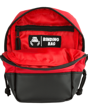 Crab Grab Snowboard Binding Bag Black Inside detail