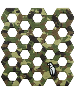 Crab Grab  Crab Trap Green Camo Snowboard Stomp Pad