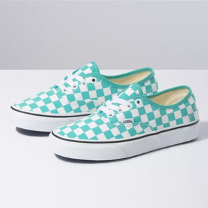 Vans Checkerboard Authentic (Waterfall/True White)