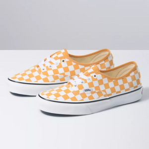 Vans Checkerboard Authentic (Gold Nugget/True White)