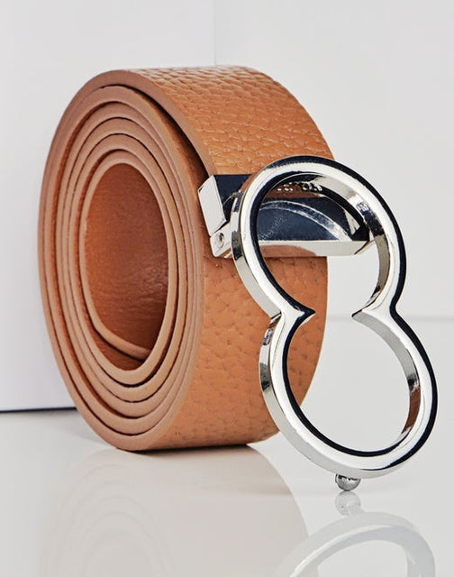 BL10 Leather Icon Belt - Tan - 2EROS