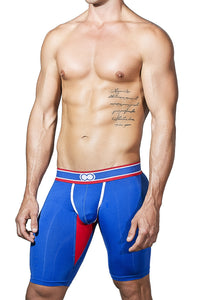 U50 Jock Series Long Trunk - Blue - 2EROS