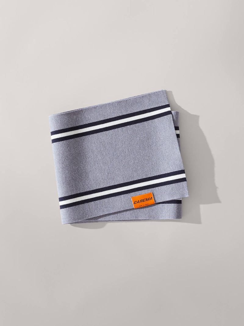 Racing Scarf in Grey