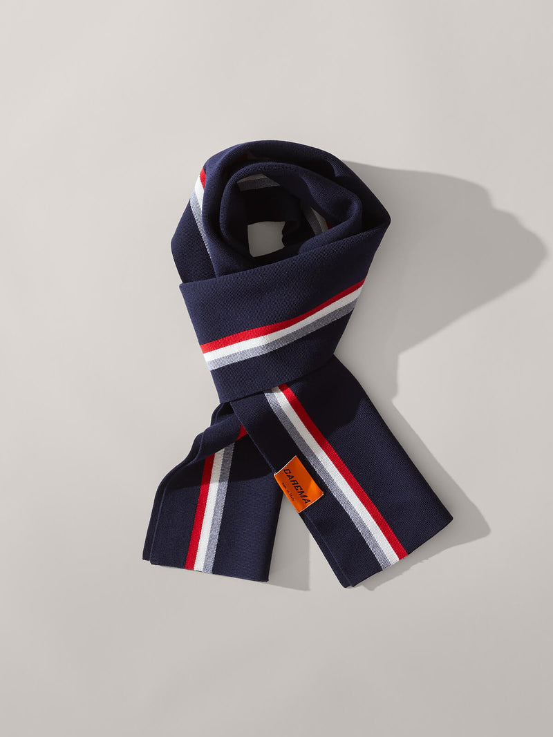 Racing Scarf in Navy