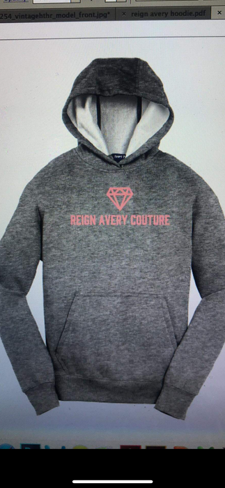 RAC Logo Hoodie Grey Gray or Black