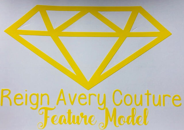 Reign Avery Couture Stickers