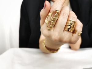 Asher Ring /\ Gold