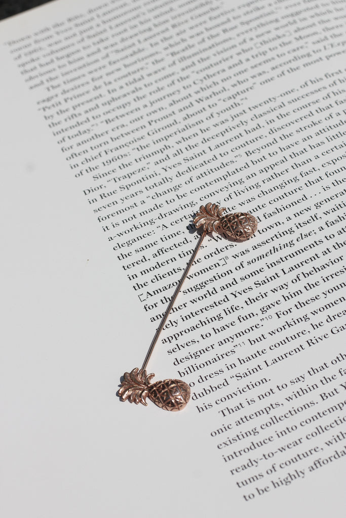 Lady Grey Brooch /\ Copper