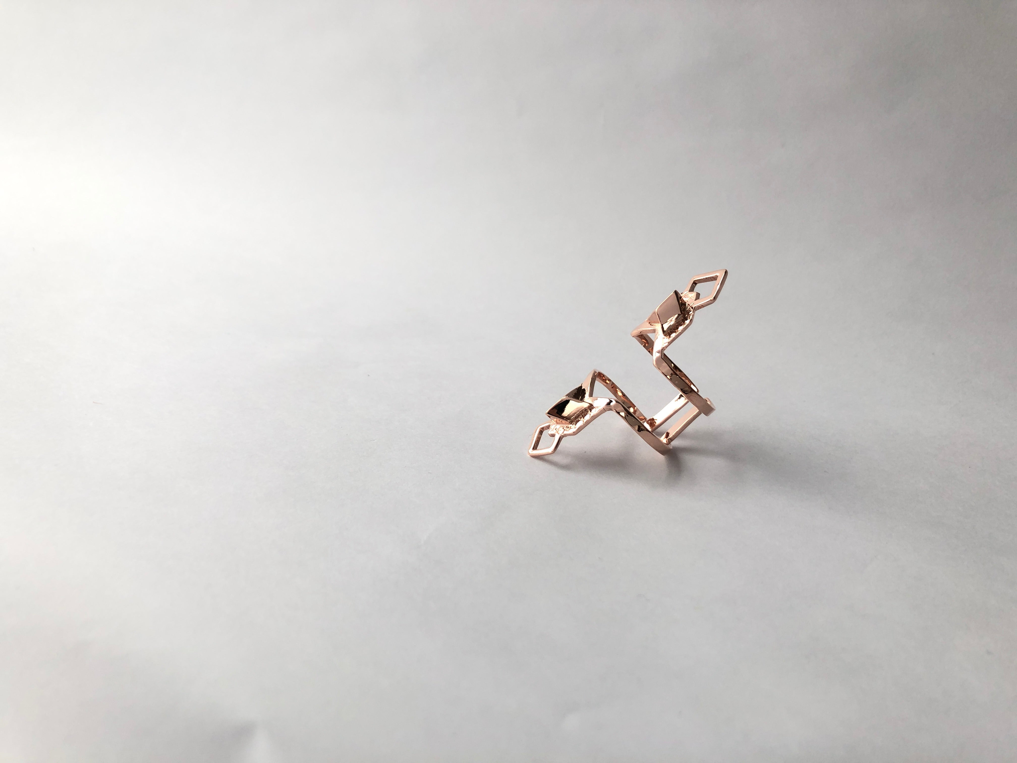 sustainable rosegold jewellery statement classic accessory rings sustainable brand