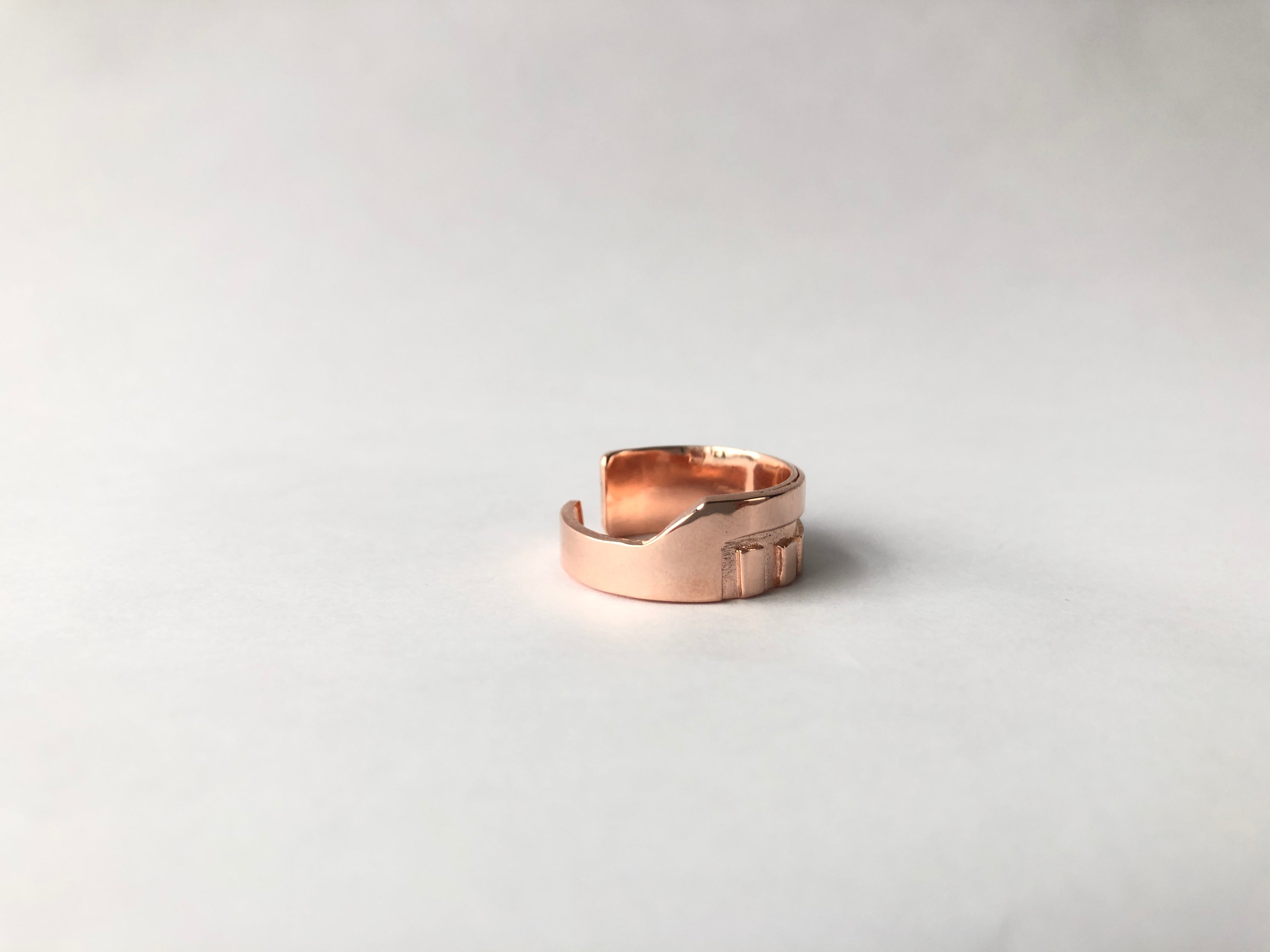 Praise Ring /\ Rose Gold