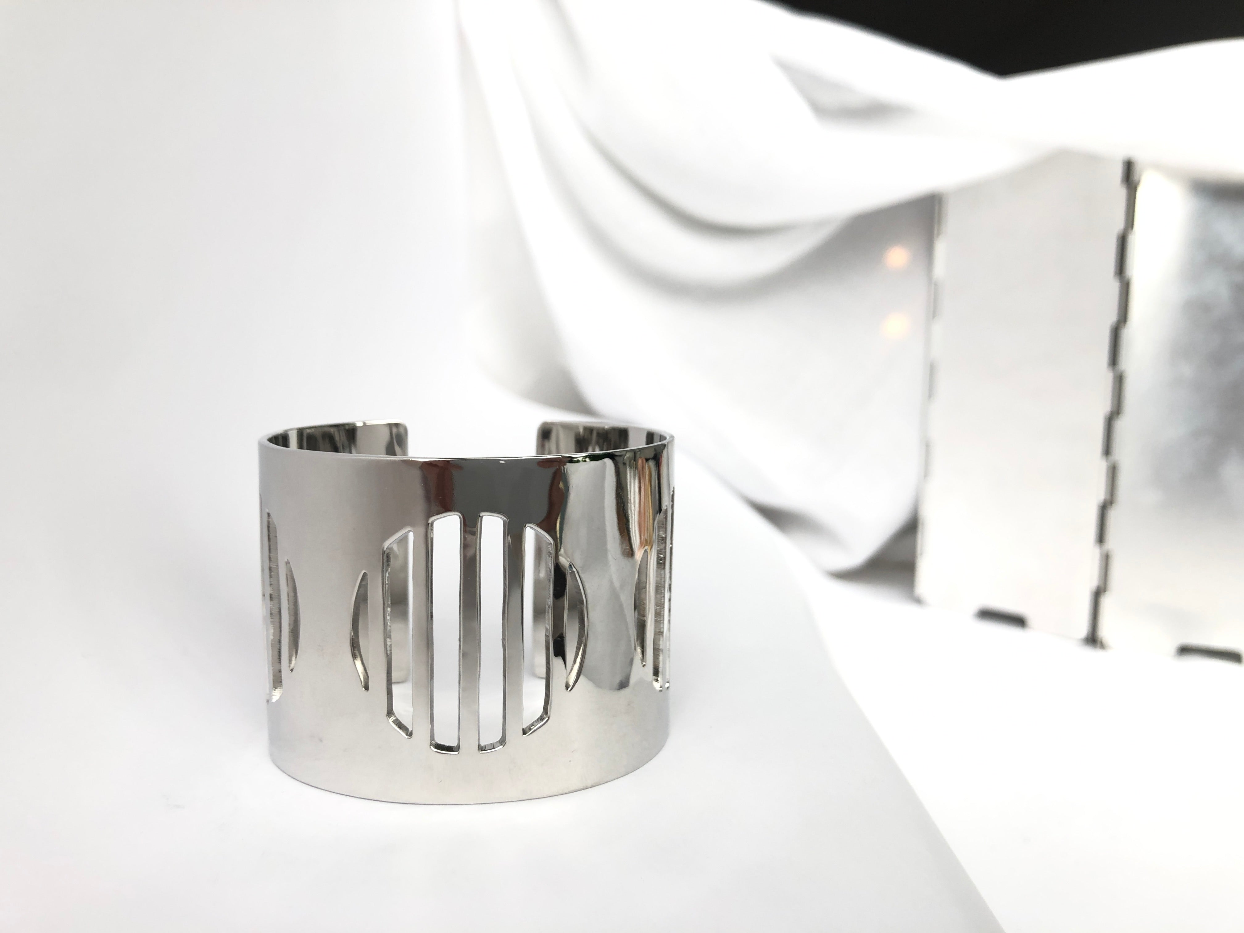 silver sustainable jewellery recycled rings cuffs bracelets ethical accessories women