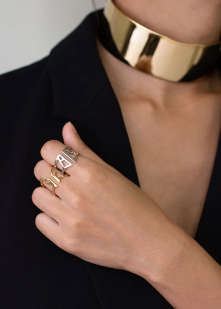 gold sustainable jewelry recycled materials