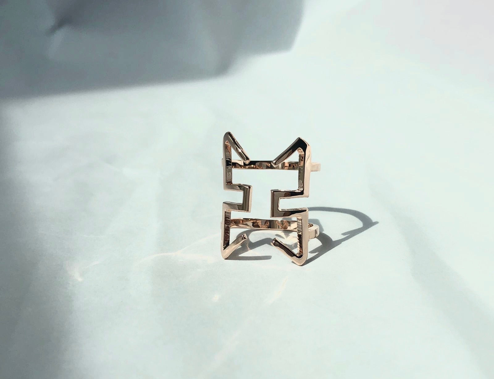 Courage Ring /\ Rose Gold