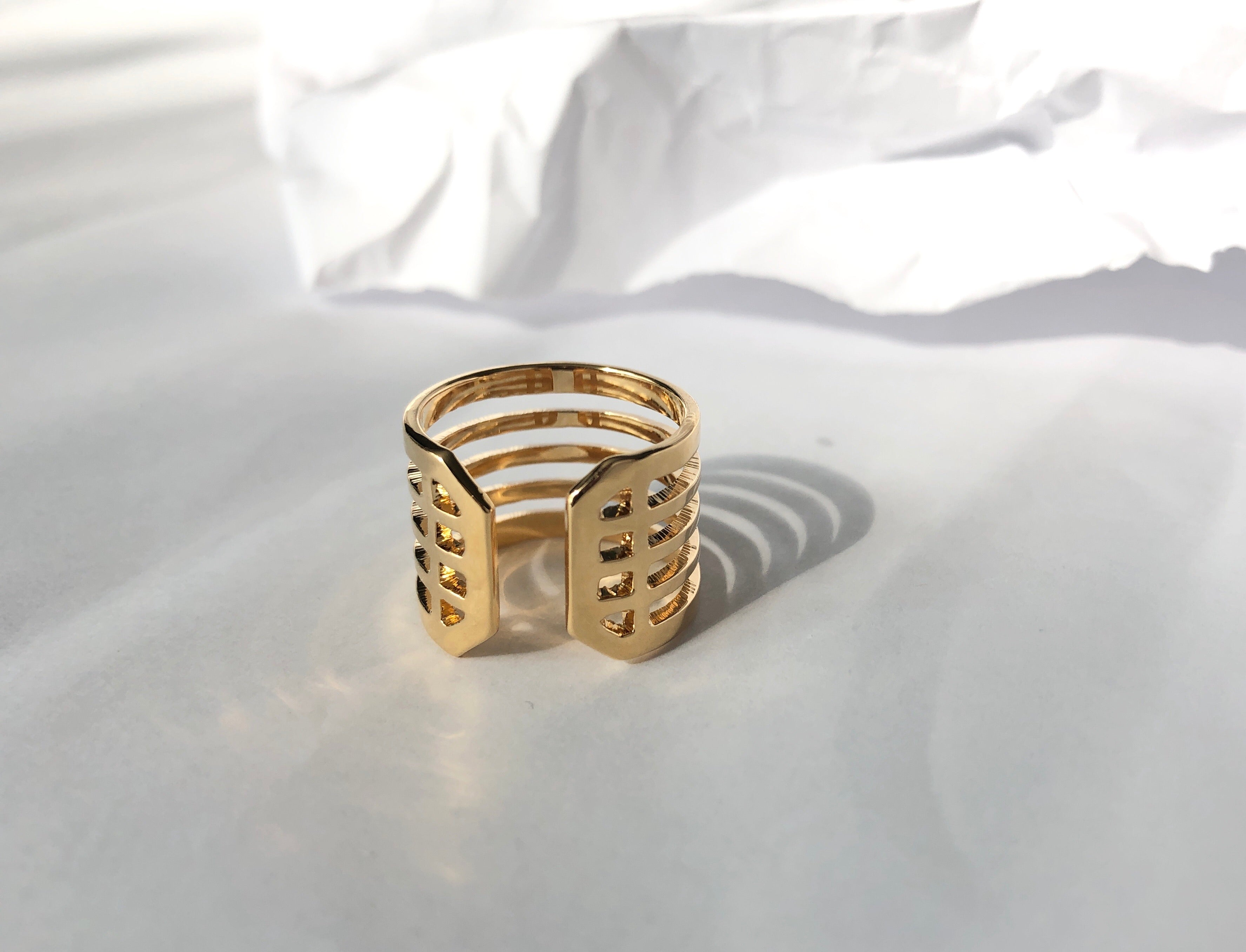 Justice Ring /\ Gold