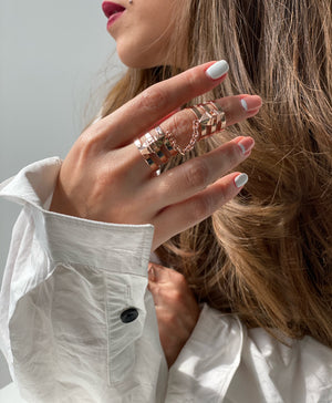 Aleia Ring /\ Rose Gold