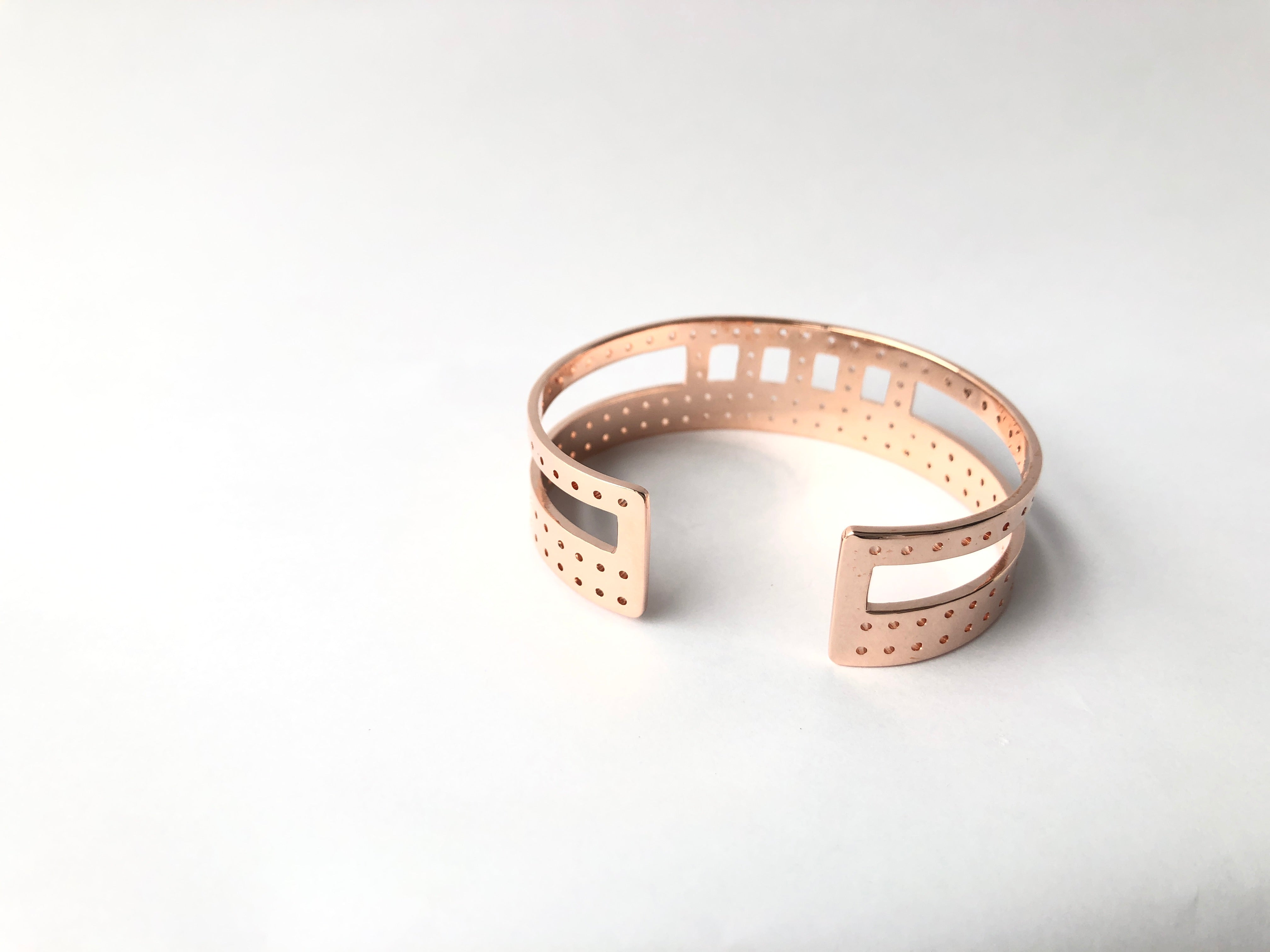 Dara Cuff /\ Rose Gold