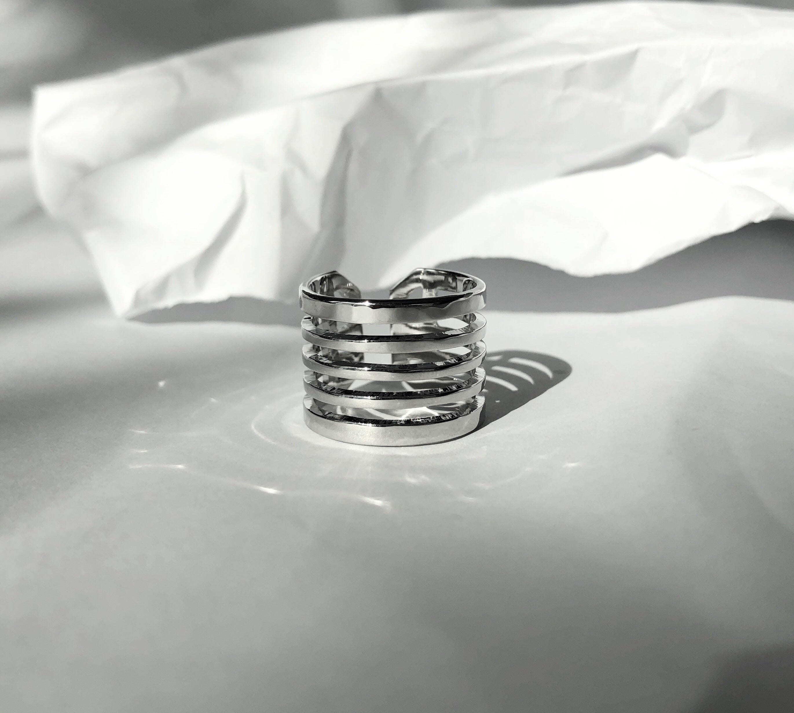 Justice Ring /\ Silver