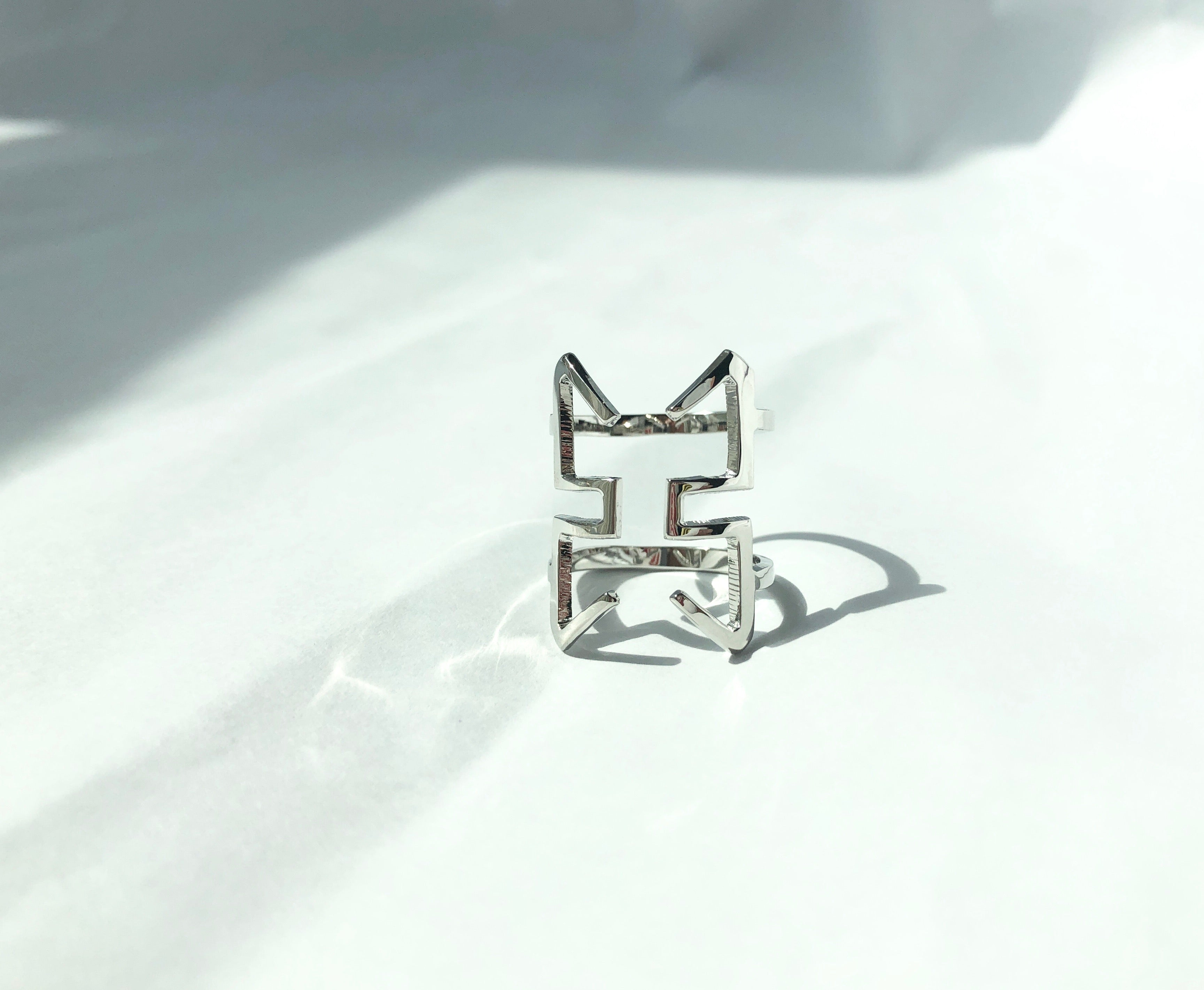 Courage Ring /\ Silver