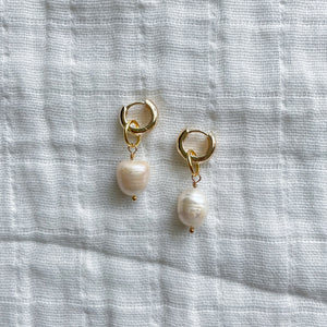 singleton charm earrings