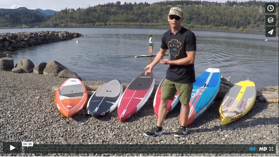 2016 Downwind SUP Test