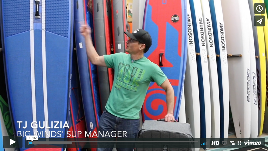 The Right Way to Pack Your Inflatable SUP
